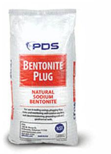 Bentonite Plug