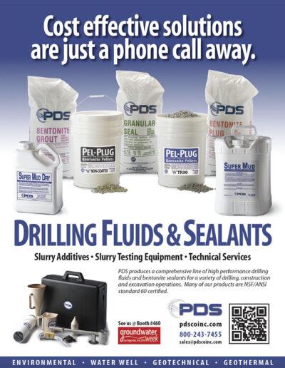 Drilling Fluids, Sealants