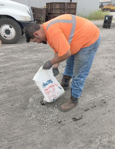 Bentonite Plug Treating