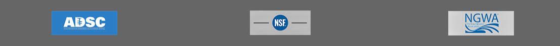 ADSC, NSF, NGWA logos