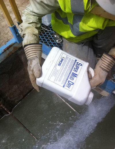 Super Mud Dry Treating