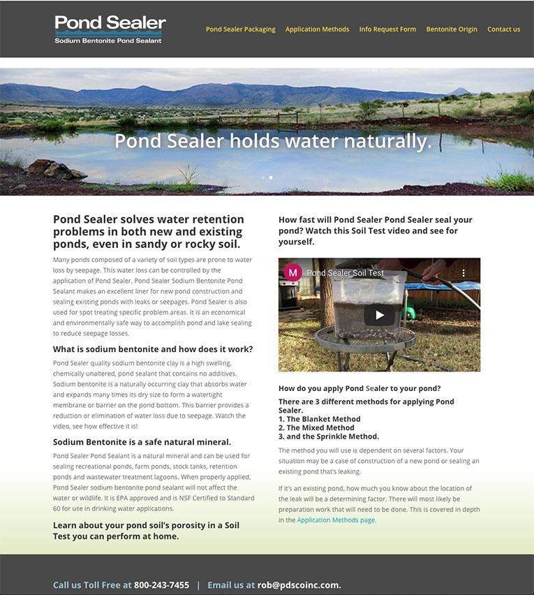 pondsealer.net website